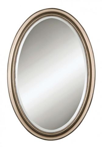 Petite Manhattan Champagne Silver Mirror