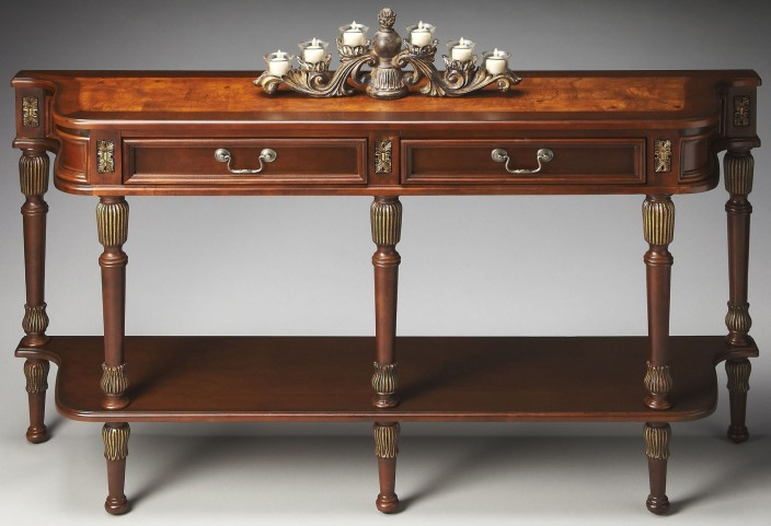 Merrion Plantation Cherry Console Table
