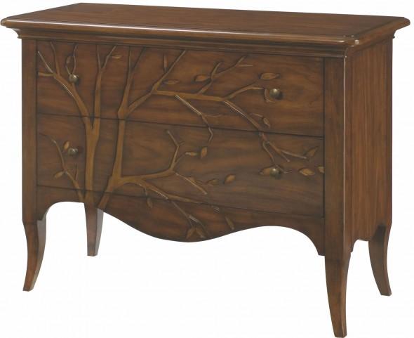 Hidden Treasures 2 Drawer Drawer Cabinet