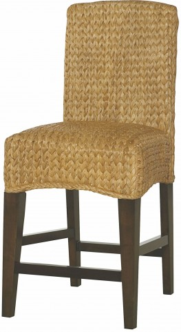 Hidden Treasures Woven Counter Stool