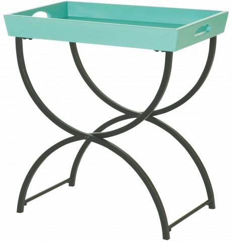 Hidden Treasures Tray Top Chairside Table