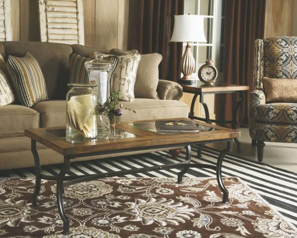 Hidden Treasures Rectangular Occasional Table Set