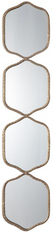 Myriam Twisted Iron Mirror