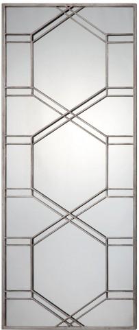 Kennis Silver Leaner Mirror
