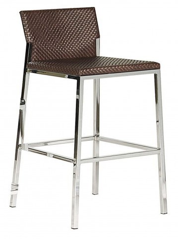 090B-75 Brown Barstool
