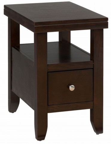 Marlon Wenge Chairside Table