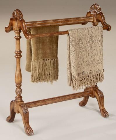 Joanna Vintage Oak Blanket Stand