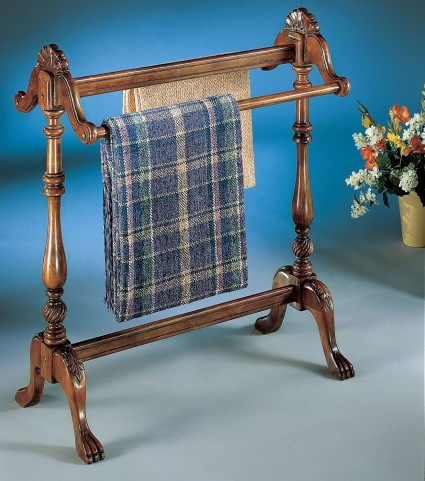 Joanna Plantation Cherry Blanket Stand