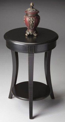 Masterpiece Black Accent Table