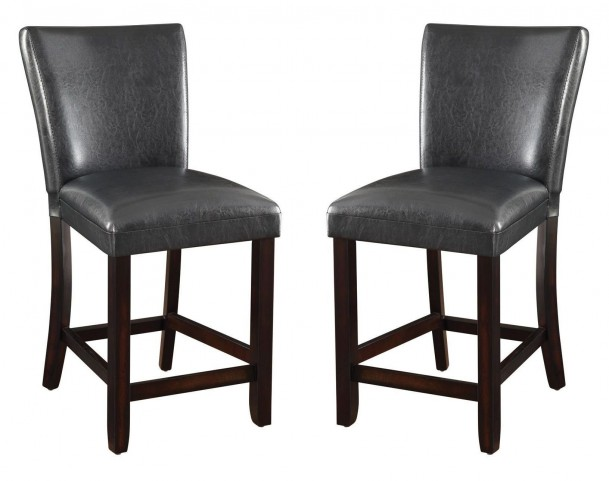 100055 24'' Counter Height Stool Set of 2
