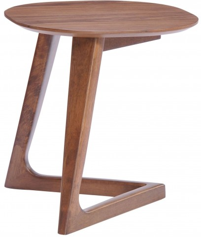 Park West Walnut Side Table