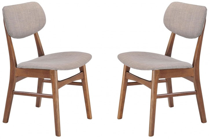 Midtown Dove Gray Dining Chair Set of 2