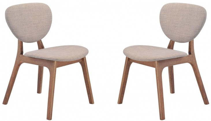 Omni Dove Gray Dining Chair Set of 2