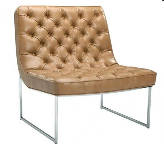 Toro Peanut Leather Chair
