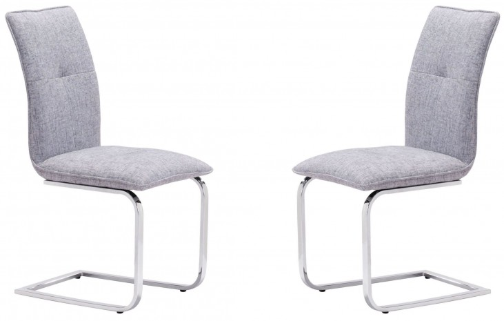 Anjou Gray Dining Chair Set of 2