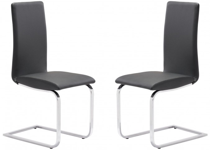 Lasalle Black Dining Chair Set of 2