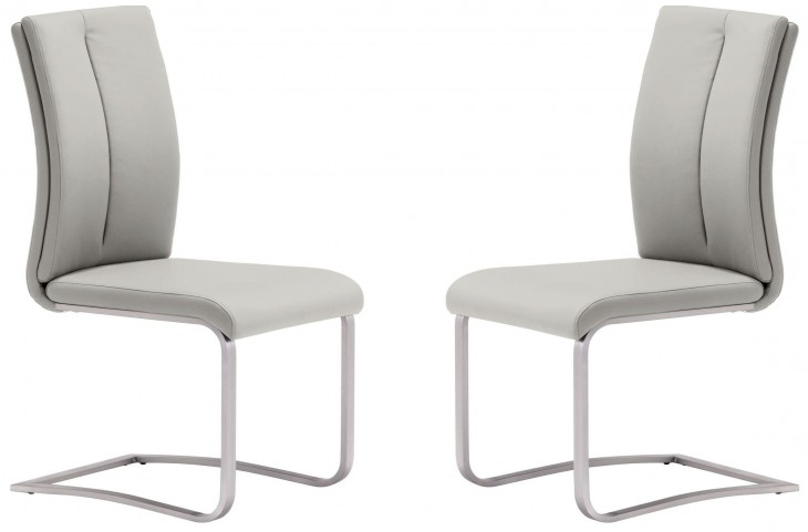 Rosemont Taupe Dining Chair Set of 2