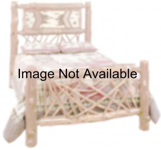 Cedar Full Adirondack Twig Bed
