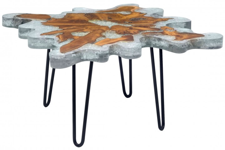 Jigsaw Natural Square Coffee Table