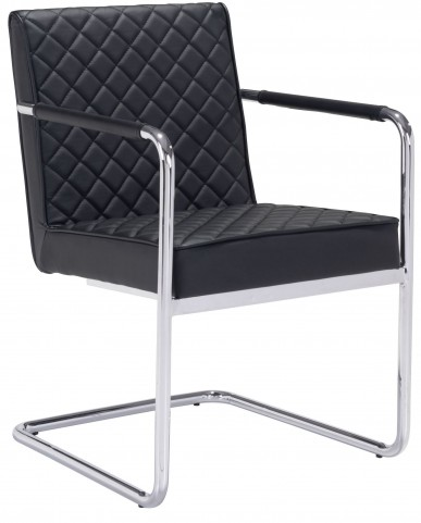 Quilt Black Dining Chair