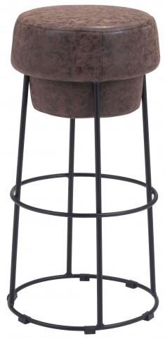 Pop Natural & Distressed Barstool