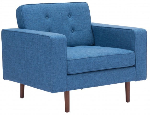 Puget Blue Arm Chair