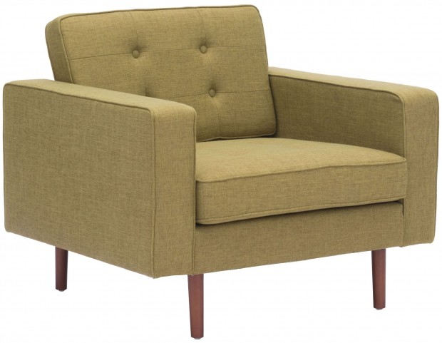 Puget Green Arm Chair