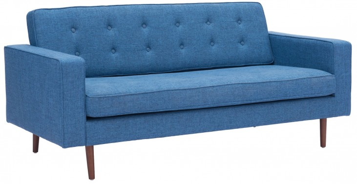 Puget Blue Sofa