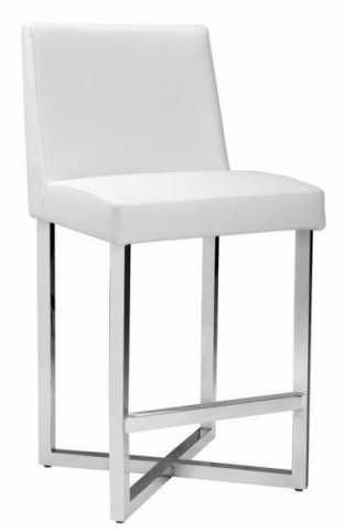 Howard White Counter Stool