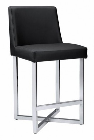 Howard Black Counter Stool