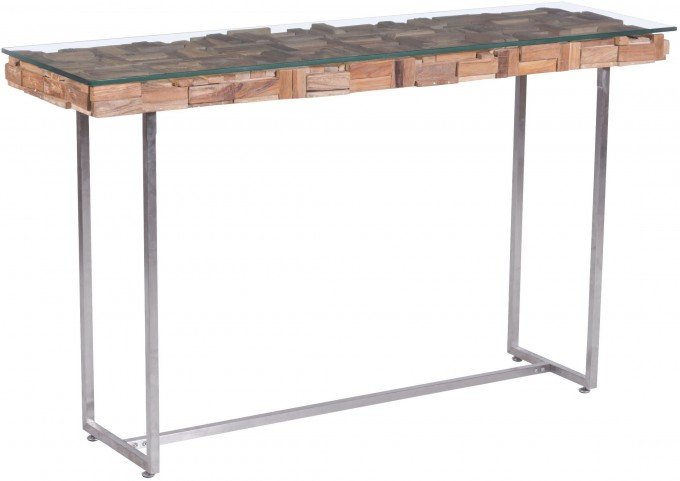 Collage Natural Console Table