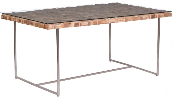 Collage Natural Rectangular Dining Table
