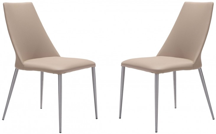 Whisp Beige Dining Chair Set of 2