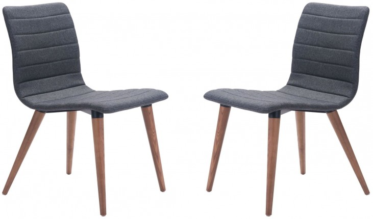 Jericho Gray Dining Chair Set of 2