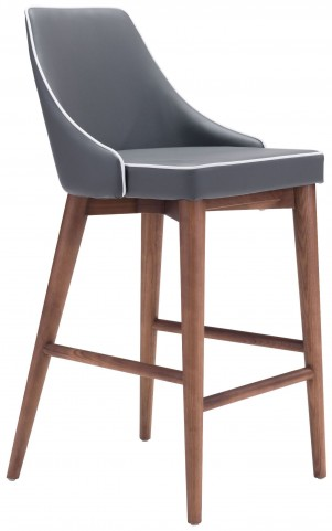 Moor Dark Gray Counter Chair