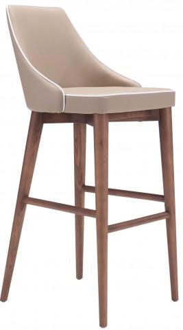Moor Beige Bar Chair