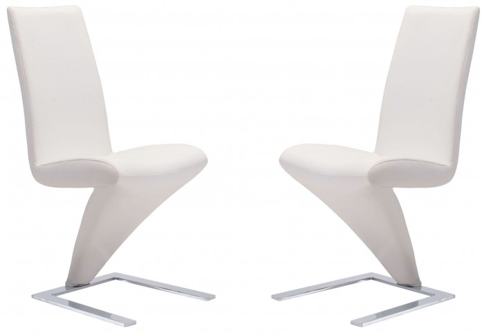Herron White Dining Chair Set of 2