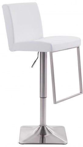 Puma White Bar Chair