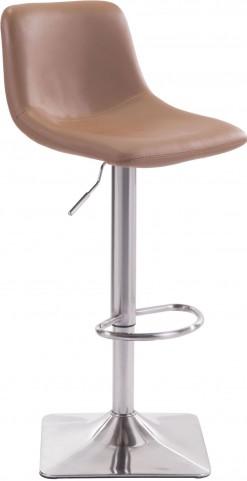 Cougar Taupe Bar Chair