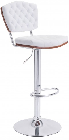 Tiger White Bar Chair