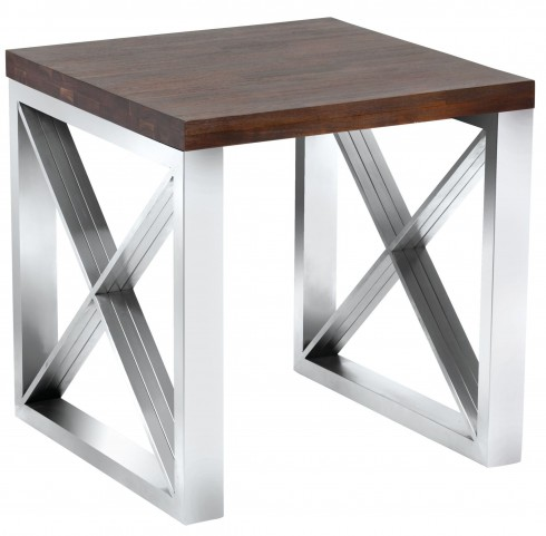 Catalan Wood End Table