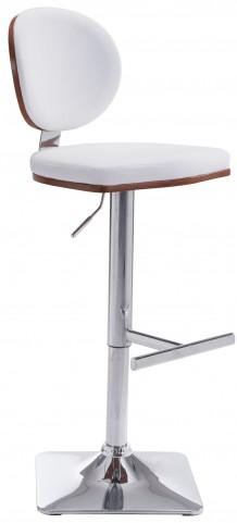 Lion White Bar Chair