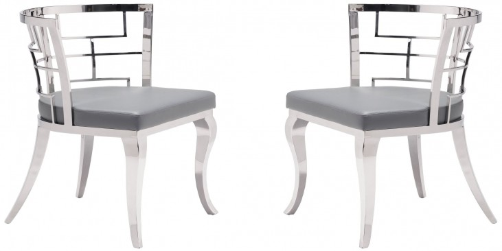 Quince Gray Dining Chair Set of 2