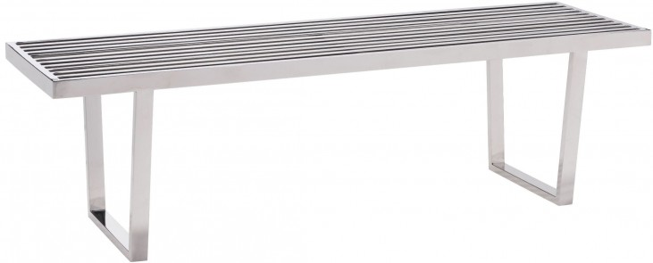 Niles Stainless Steel Bench
