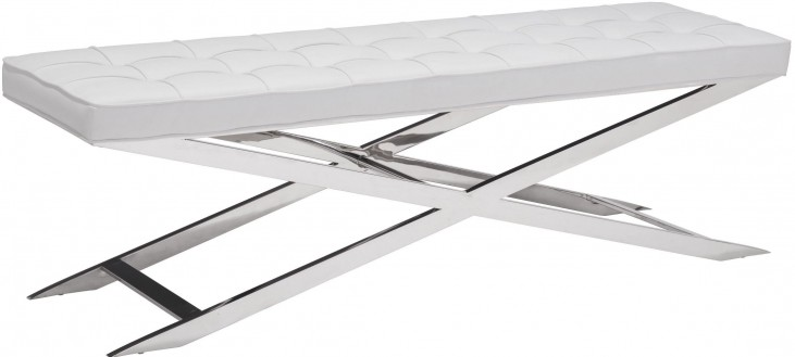 Pontis White Bench