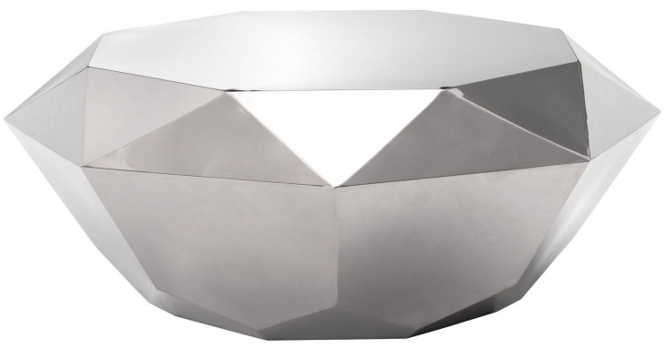 Gem Stainless Steel Coffee Table