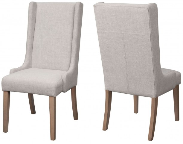Solomon Natural Mango Side Chair Set of 2