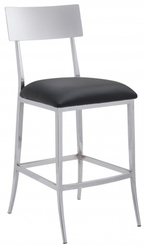Mach Black Counter Chair