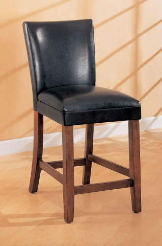 Telegraph Black Bar Stool Set of 2