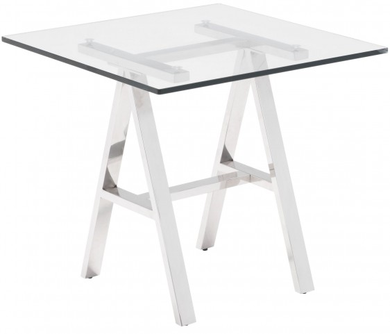 Lado Chrome Side Table